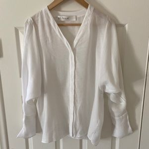 Yigel Azouel White Top Shirt Sz 4
